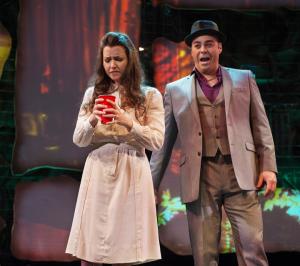 Opera Parallele's 2014 production of Anya17. Photo: Steve DiBartolomeo, Westside Studio Images.